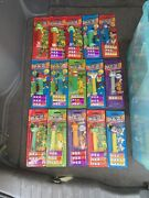 Lot 65+ Some Vintage Pez Collectible Candy Dispensers