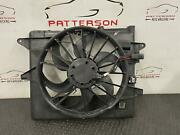 2014 Ford Mustang Electric Cooling Radiator And Ac Condensor Fan Motor Assembly