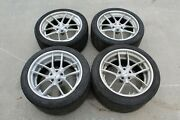 2014 Nissan R35 Gtr Dba B-forged 530 Ts 20 Front And Rear Wheels/tires 89k Miles