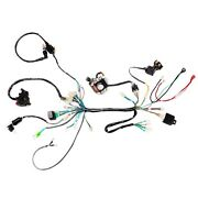 Wire Harness Magneto Coil Ignition Cdi Wiring 50cc 90cc 110cc Quad Go Kart Buggy