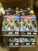 Lot Of 8 Disney Infinity 3.0 Edition Toy Box Speedway Expansion Wii U Xbox Ps4