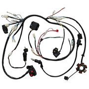 Electric Wiring Wire Harness Magneto Coil Regulator Cdi Gy6 15cc Engine Go Kart