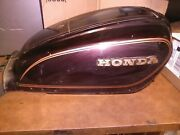 T/ 1982 Honda Gl1100 Gold Wing Interstate Gas Tank Cover With Key Oem Used