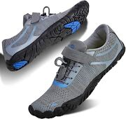 Watelves Men's And Women's Water Shoes   Barefoot Trail Runner   Wide Toe Box