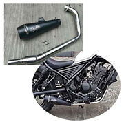 Custom Works Full Exhaust System Pipes Motorcycle Parts Fits Honda Rebel Cmx 300