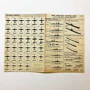 Wwii Restricted 1944 And039japanese Aircraft And Warshipand039 Joint Army Navy Poster Relic