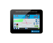 Raven Cr7 Gps Display With 500s Receiver Mount And Power Cabling
