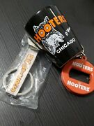 Lot Of Hooters Bev Key® 3 In 1 Opener, Bottle Opener And Chicago Shot Glass