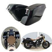 Side Boxes Left Right Gloss Black Parts Accessories Fits Honda Rebel Cmx 300 500