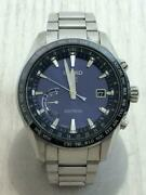 Seiko Astron 8x22-0ag0-2 Date Box Used Gps Solar Mens Watch Authentic Working