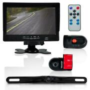 Pyle Plcmdvr72 - Dash Cam Car Recorder - Front And Rear View Camera 7 Inch Monitor