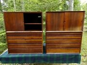 Paul Cadovius System Vintage Wall Unit Cabinets Rosewood Rare 4 Available