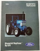 1984 Ford Tractor And Equipment - Ertl Replicas Toys Dealer Sales Catalog