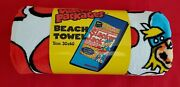 Wacky Packages Vintage Towel New Condition @@ Slacker Jack @@