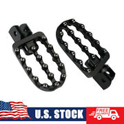 Billet Adjustable Footpegs Rest Pedal For Bmw F650gs F700gs F800gs / Adventure