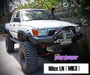 Jungle Offroad For Toyota Hilux Mk3 89-97 Ln105 Ln106 Fender Flares Wheel Arch