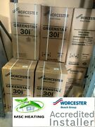 Worcester Bosch 30i Combi Boiler Supply And Fitted + Worcester Magnetic Filter