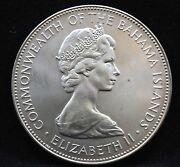 1971 Commonwealth Of Bahama Islands-5 Dollars-uncirculated 1.5 Oz Silver Coin