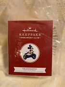 Hallmark Ornament2019 The Dognapper Mickey Mouse Disney Sold Out