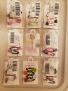Nwt Gymboree Girl Hair Accessories Lot Clips