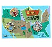 A Goofy Movie 25th Anniversary Disney D23 Exclusive Pin Set Limited Edition Le