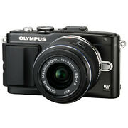 Olympus E-pl5 Mirrorless Micro Four Thirds Digital Camera With 14-42mm F/3.5-5.6