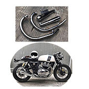 Exhausts Full Systems Stainless Steel Silver Royal Enfinld Gt650 Interceptor 650