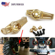Heavy Duty Brass Front C Hub Knuckle Carrier For Traxxas Trx4 1/10 Rc Crawler