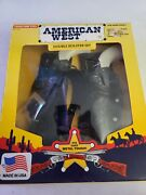 Tootsietoy American West Die Cast Toy Double Holster Set 1992 Nice New