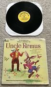 Disney Uncle Remus 1959 Song Of The South Soundtrack Record Splash Mountain