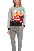 Womenand039s 3.1 Phillip Lim Tourist Logo Embroidered Sweater In Grey Size Xs