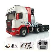 Lesu 1/14 Scania Metal 88 Chassis Tractor Truck Sound Esc Hercules Painted Cab