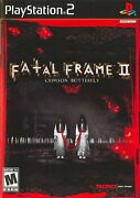 Fatal Frame 2 Crimson Butterfly [video Game]