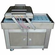 Upgrated Electric Vacuum Sealer Two Chambers 220v For Bagged Food Packing Device