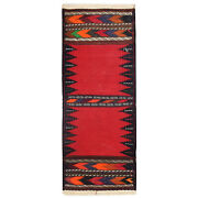 2and0392 X 5and0398 Ft Authentic Afghan Oriental Table Sheet Sufra Kilim Runner /2945/