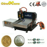 Steel Cnc Router 3040 3axis 2.2kw Milling Carving Engraving Machineandlinear Guide