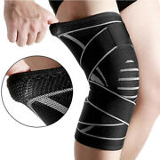 Unisex Support Brace Knee Pads Patella Elastic Outdoor For Sport Gym Hiking New
