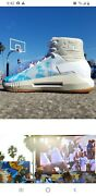 Ucla Bruins Under Armour Basketball Shoes Drive 4 Icon Sunrise To Sunset Pac-12