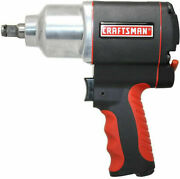 New Craftsman Impact Wrench 1/2 In Drive Air Tool Gun Portable