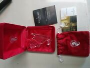 1998 Waterford Crystal Ornament - Memories Collection - Christmas Sleigh