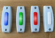 Lighted Doorbell Button Replacement Wired Broan Nutone Pb7lwh Choice Led Color