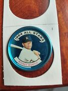 1964 Topps Baseball Coin 131 Mickey Mantle Allstar Great Color Picture