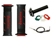 Kawasaki Zx9r F F1p F2p 02-03 Domino Xm2 Quick Action Throttle Black/ Red Grips