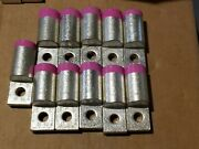 Lot Of 11 Versa Crimp Lugs Vcelc-075-12h1 New Old Stock