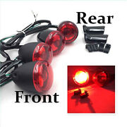 Front Rear Turn Signal Indicator Kit For And03992-and03916 Harley Sportster Xl 883 1200 Re