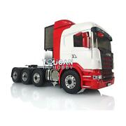 Lesu Metal 88 Chassis 1/14 Scania Rc Tractor Truck Model Painted Hercules Cabin