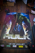 Incredible Hulk Style B 4x6 Ft Bus Shelter D/s Movie Poster Original 2008