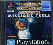 Command Conquer Mission Tesla Alerte Rouge Neuf Sous Blister -playstation 1