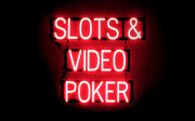 Spellbrite Ultra-bright Slots And Video Poker Sign Neon Look, Led Performance