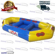 8.2x4ft Inflatable River Boat Water Rafts Games Sled With Air Pump
